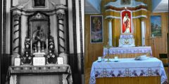 Praeitą savaitę netikėtai surastas mūsų muziejuje atkurtos Sasnavos senosios bažnyčios trečiasis altorius