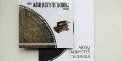 """Parodos """"Mūsų jaunystės technika"""" katalogas su CD"""
