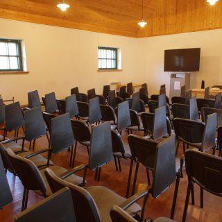 Konferencijų salė Ugniagesių stoginėje