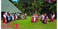 """Estijos folkloro ansamblio """"Hanila"""" koncertas – rugsėjo 17 d."""